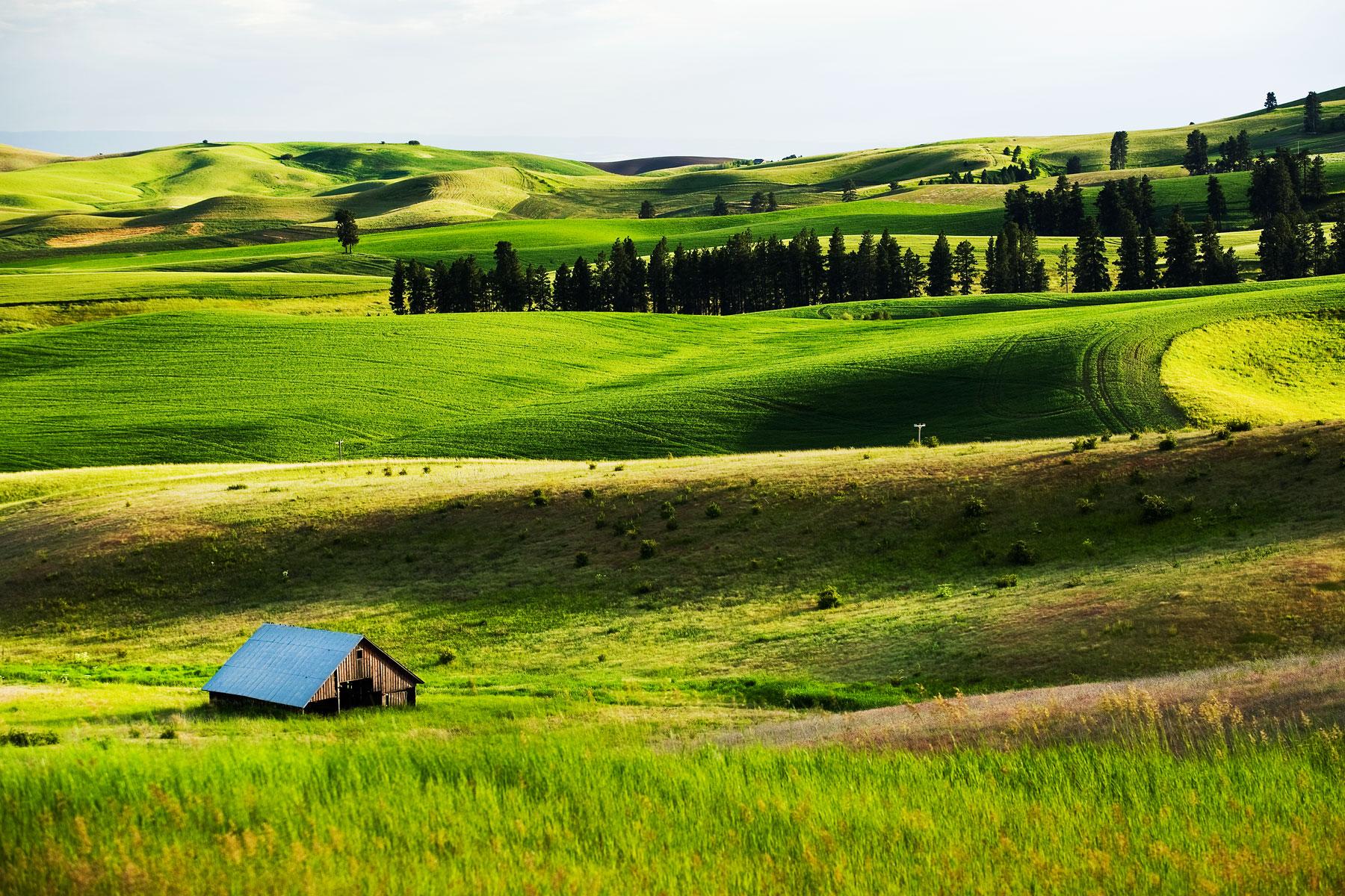 rolling-hills-barns-farmland-idaho